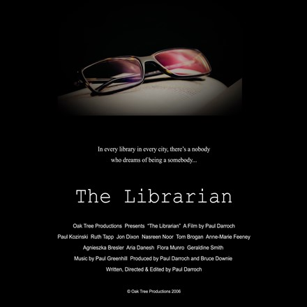 "Short Films - ""The Librarian"" - Now on the IMDb"