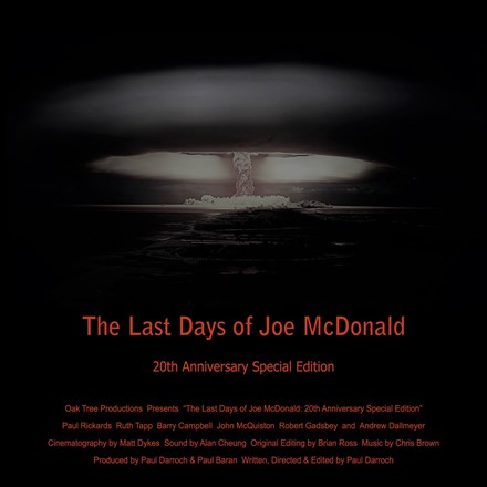 "Short Films - ""The Last Days of Joe McDonald: 20th Anniversary Special Edition"" - Now on the IMDb"