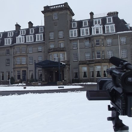 Corporate Videos - Filming at Gleneagles Hotel