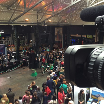 Corporate Videos - Filming of St. Patrick's Day Festival