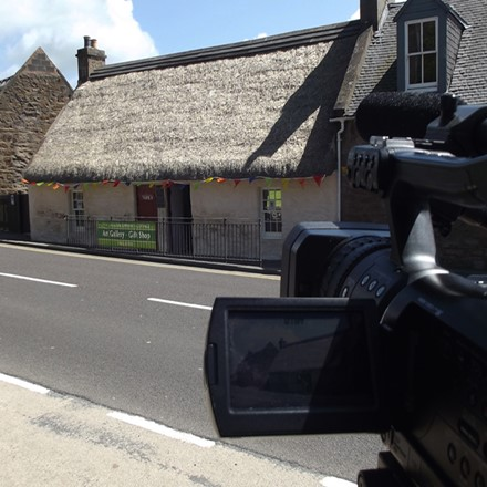Corporate Videos - Filming of Souter Johnnie's Gallery